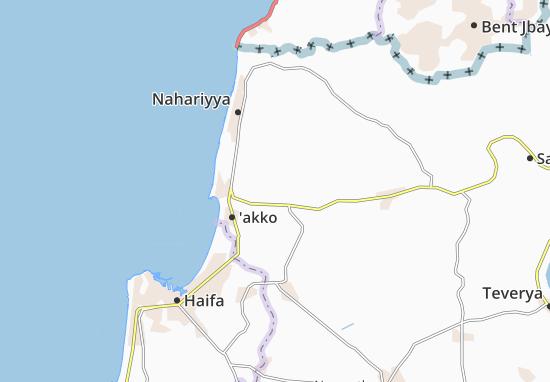 Judeida Makr Map