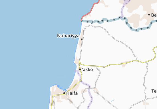Kaart Plattegrond Lohame Hageta'ot