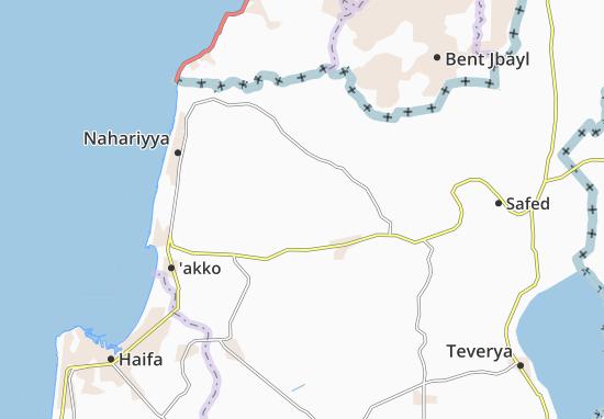 Kaart Plattegrond Lappidot