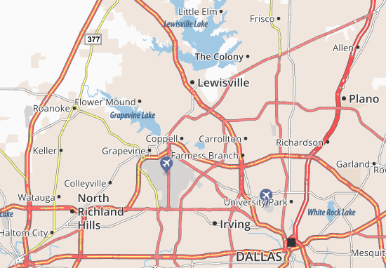 Coppell Map
