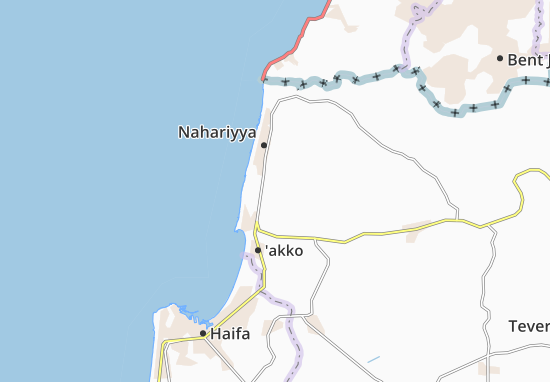 Kaart Plattegrond Nes 'Ammim