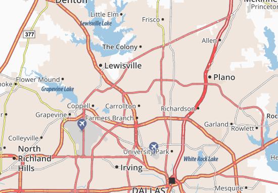 Carrollton Map