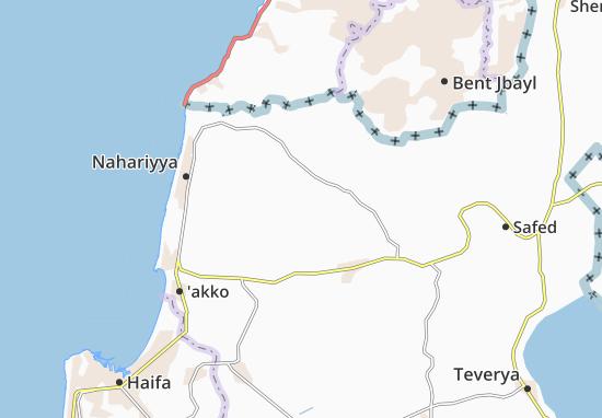 Kaart Plattegrond Yanuh