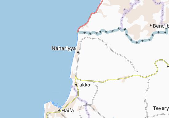 Netiv Hashayyara Map