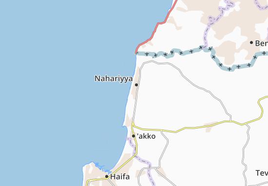 Kaart Plattegrond Ma'Bara