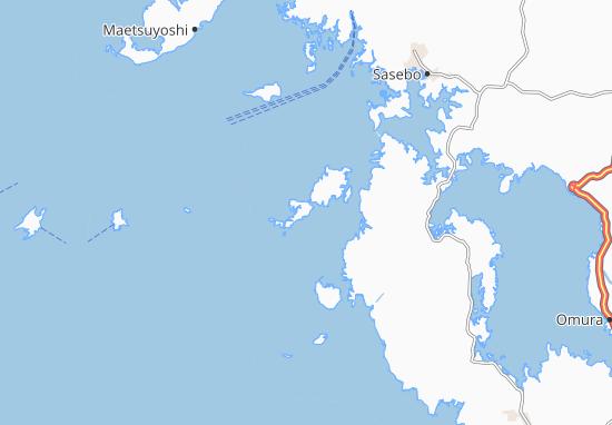 Mapas-Planos Kakinoura