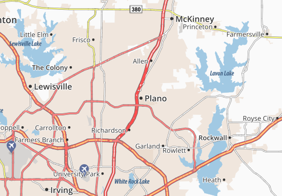 Plano Map
