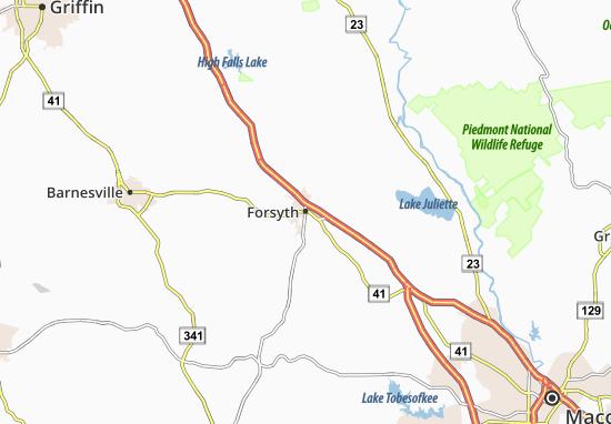 Forsyth Map
