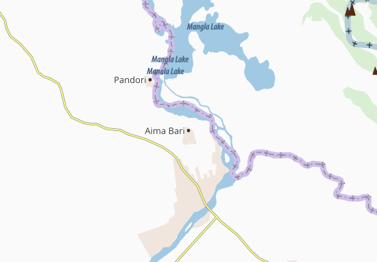 Carte-Plan Aima Bari