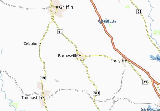 Mappe-Piantine Barnesville