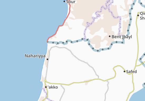 Kaart Plattegrond Goren