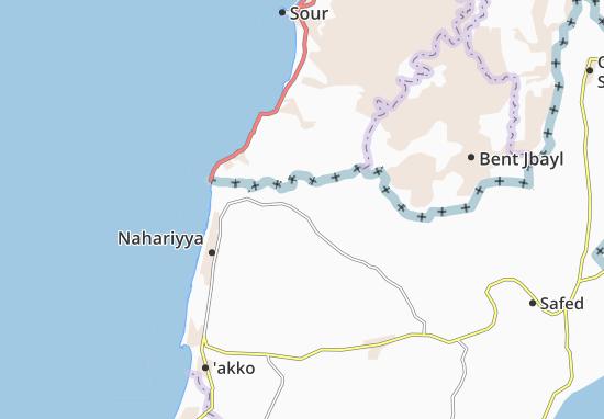 Kaart Plattegrond Elon