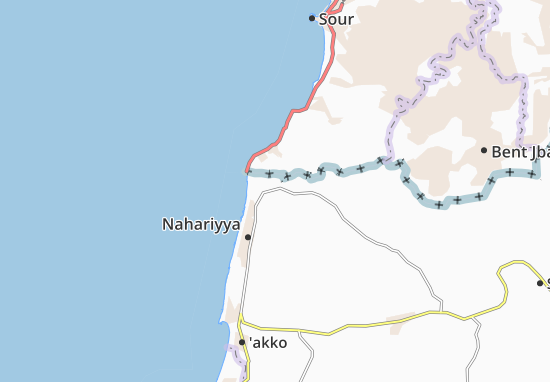 Kaart Plattegrond Shelomi