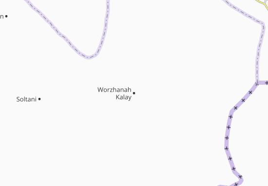 Worzhanah Kalay Map