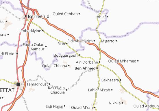 Carte-Plan Bouguargouh