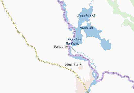 Carte-Plan Pandori
