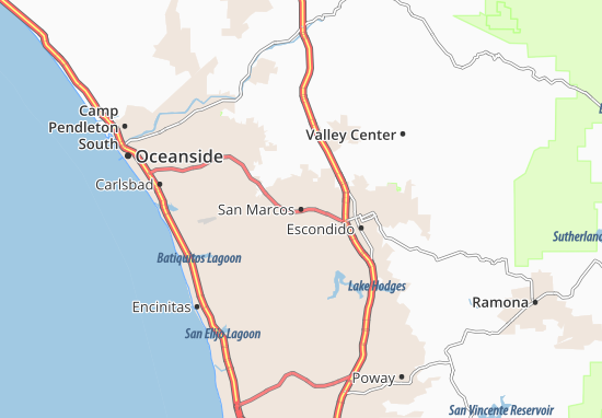 San Marcos Map