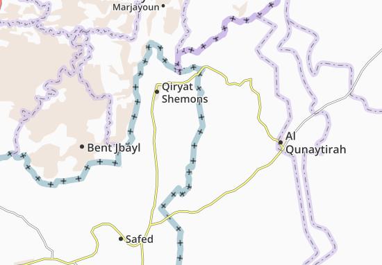 Lahavot Habashan Map