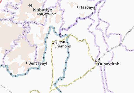 Kefar Szold Map