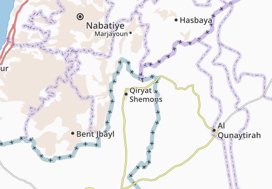 Bet Hillel Map