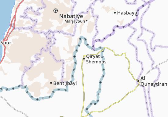 Mappe-Piantine Qiryat Shemons
