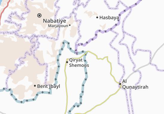 She'Ar Yashuv Map