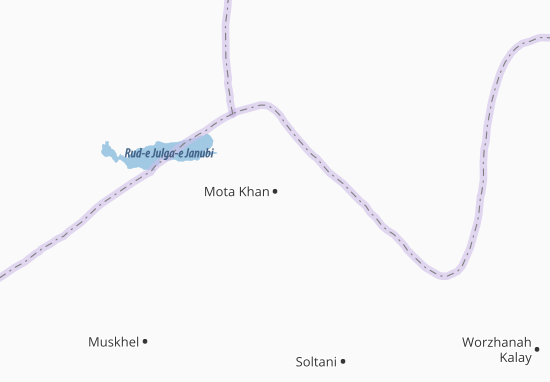 Mota Khan Map