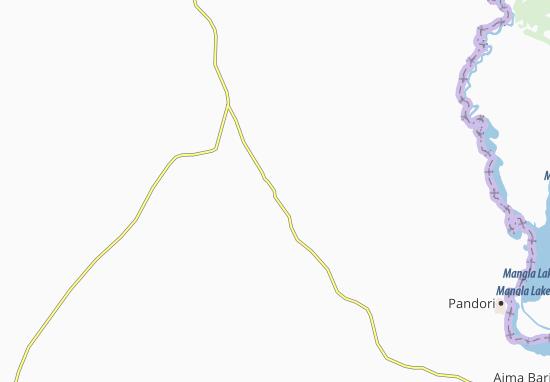 Carte-Plan Gujar Khan