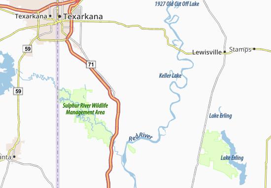 Rocky Mound Map