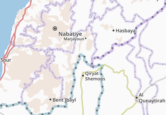 Metulla Map
