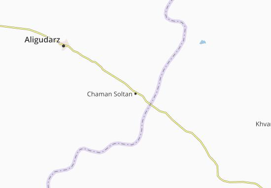 Chaman Soltan Map