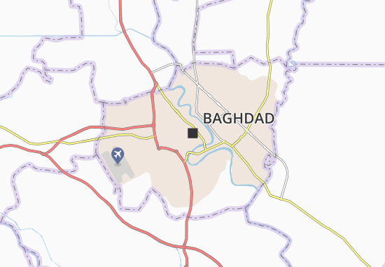 Baghdad Map: Detailed maps for the city of Baghdad - ViaMichelin