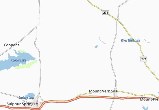 Sulphur Bluff Map