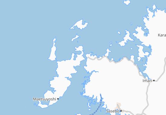 Kaart Plattegrond Hirado