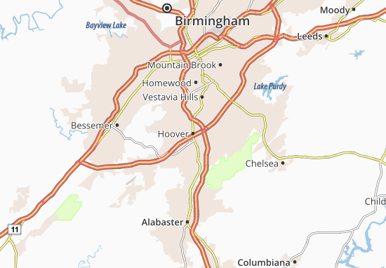 Hoover Map