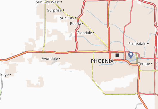 Tolleson Map