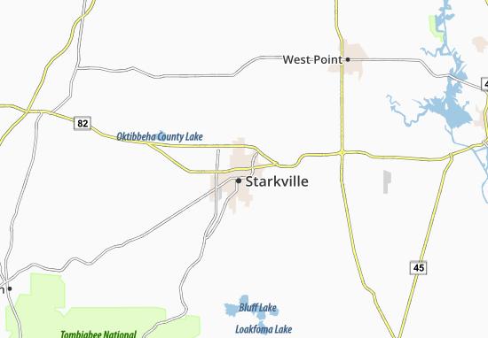 Mappe-Piantine Starkville