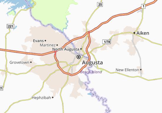 Augusta Map
