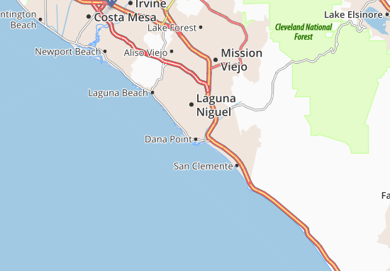 Dana Point Map
