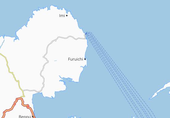 Kaart Plattegrond Furuichi