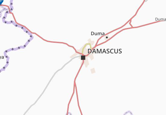 Mappe-Piantine Damascus