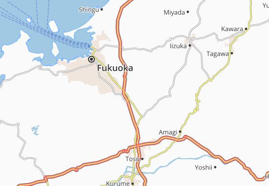 Futsukaichi Map