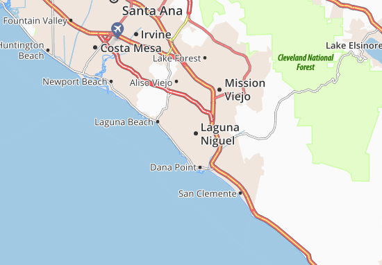 Laguna Niguel Map