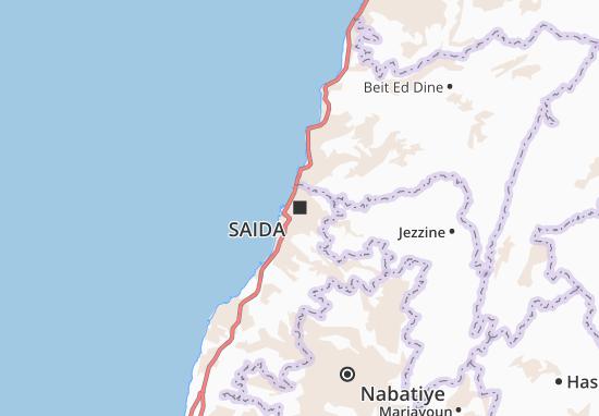 Saida Map
