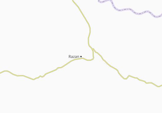 Kaart Plattegrond Razan