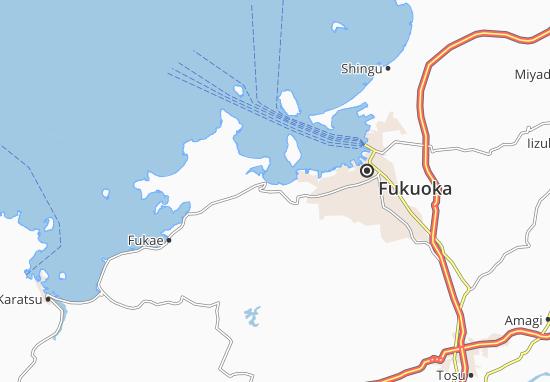 Kaart Plattegrond Imajuku