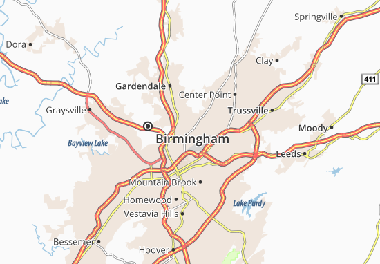 Tarrant City Map