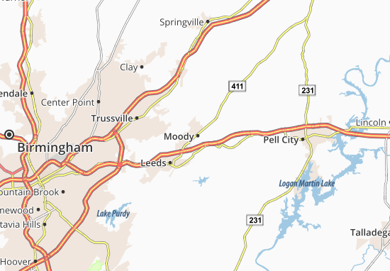 Moody Map