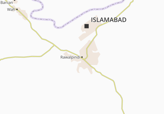 Rawalpindi Map