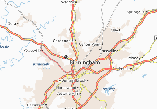 Fultondale Map